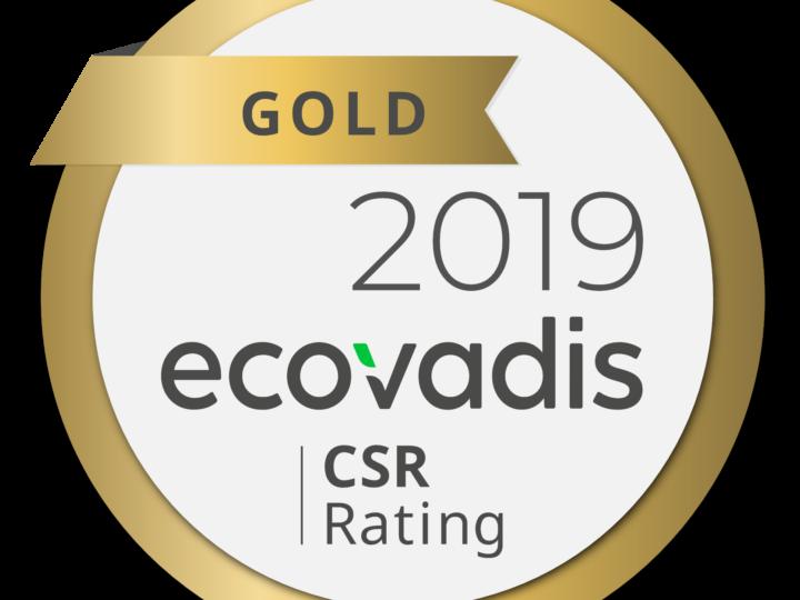 HCS Group erhält Gold-Status im EcoVadis CSR-Rating
