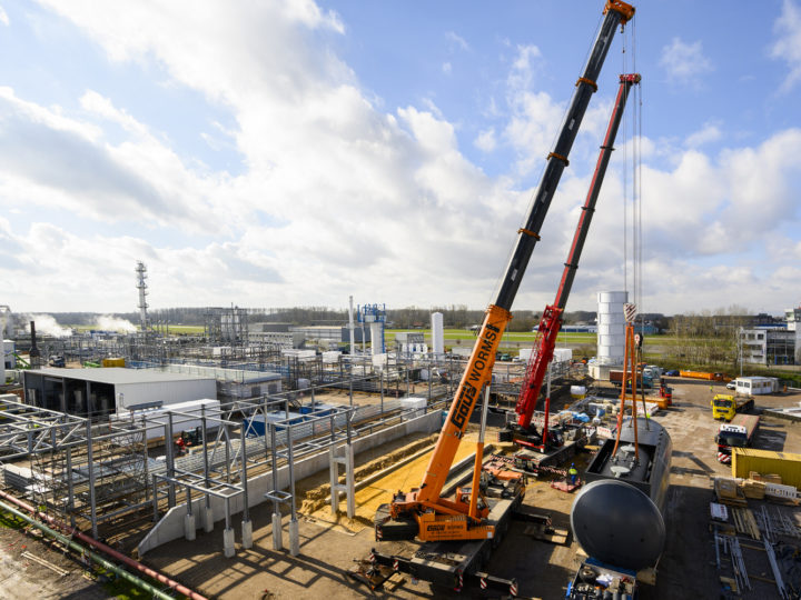 HCS Group restarts construction activities at Haltermann Carless hydrogenation plant